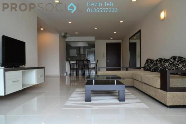 For Rent Condominium at Mont Kiara Meridin, Mont Kiara Freehold Semi Furnished 3R/4B 4.5k