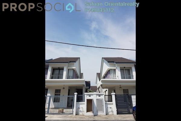 For Sale Semi-Detached at Bayu Suria, Puncak Alam Freehold Unfurnished 4R/2B 550k