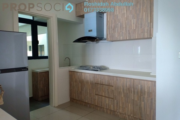 For Rent Serviced Residence at Suria Residence, Bukit Jelutong Freehold Semi Furnished 3R/2B 2.1k