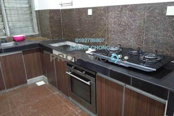For Rent Condominium at Petaling Indah, Sungai Besi Freehold Semi Furnished 3R/2B 1.1k