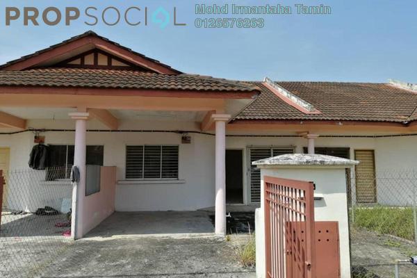 For Sale Terrace at Alam Perdana, Kuala Selangor Freehold Semi Furnished 3R/2B 280k