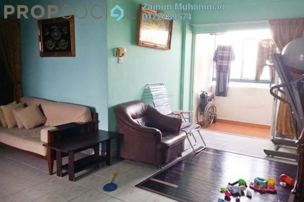 For Sale Apartment at Melati Impian, Gombak Leasehold Unfurnished 3R/2B 270k