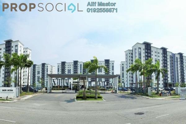For Sale Condominium at Seri Intan Apartment, Setia Alam Freehold Unfurnished 3R/2B 275k