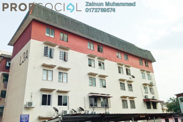 For Sale Apartment at Pandan Jaya, Pandan Indah Leasehold Semi Furnished 2R/1B 160k