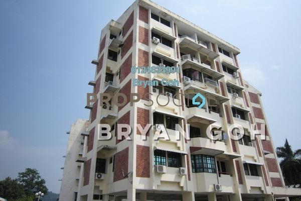 For Rent Apartment at Jermal Jaya, Pulau Tikus Freehold Fully Furnished 3R/2B 1.4k