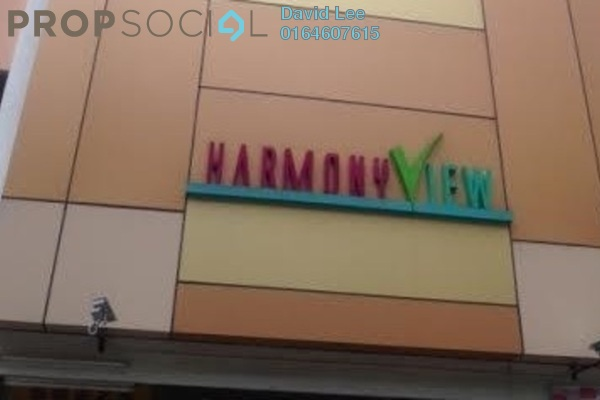 For Sale Condominium at Harmony View, Jelutong Freehold Semi Furnished 3R/2B 330k