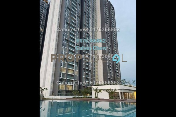 For Sale Condominium at LakeFront Residence, Cyberjaya Freehold Unfurnished 3R/2B 401k