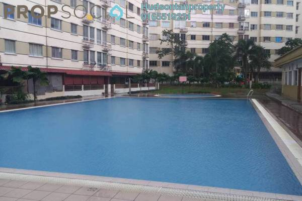 For Sale Condominium at Vista Impiana Apartment, Seri Kembangan Freehold Semi Furnished 3R/2B 210k