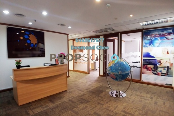 For Rent Office at Faber Imperial Court, Kuala Lumpur Freehold Fully Furnished 0R/0B 10.5k