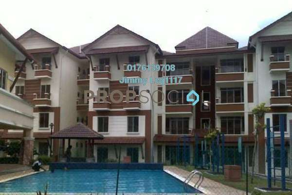 For Sale Villa at Gardenville Townvilla, Selayang Heights Freehold Semi Furnished 3R/2B 350k
