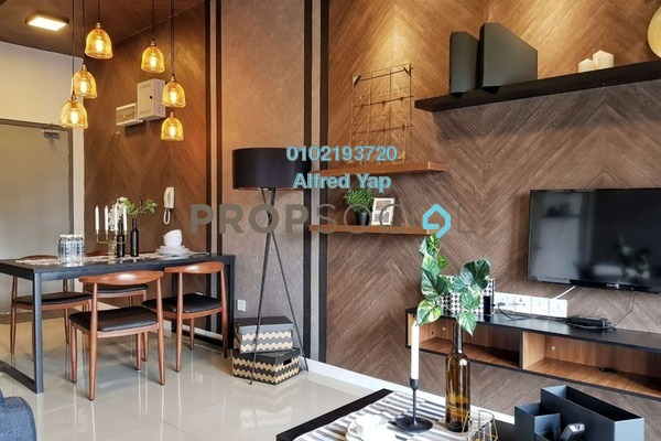 For Rent Condominium at Suria Residence, Bukit Jelutong Freehold Fully Furnished 2R/1B 1.9k