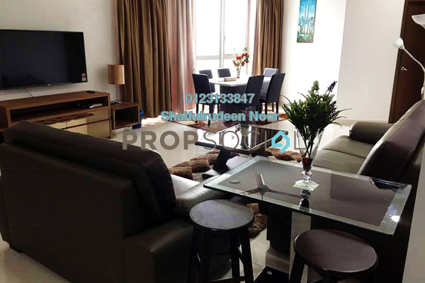 For Sale Serviced Residence at Regalia @ Jalan Sultan Ismail, Kuala Lumpur Freehold Semi Furnished 3R/2B 1.05m