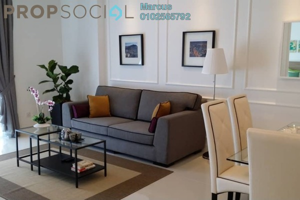 For Rent Condominium at Camellia, Bangsar South Freehold Fully Furnished 2R/1B 3.4k