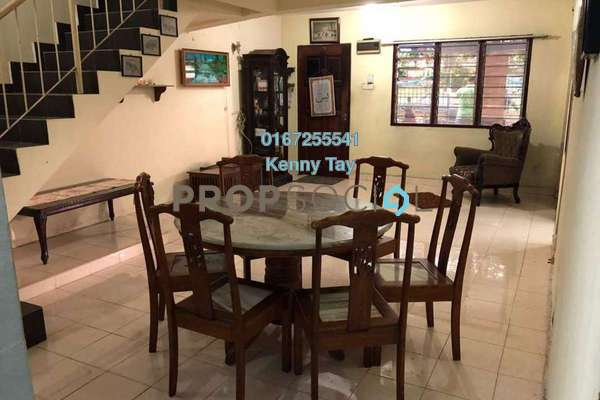 For Sale Terrace at Taman Sri Kepong Baru, Kepong Freehold Semi Furnished 3R/2B 600k