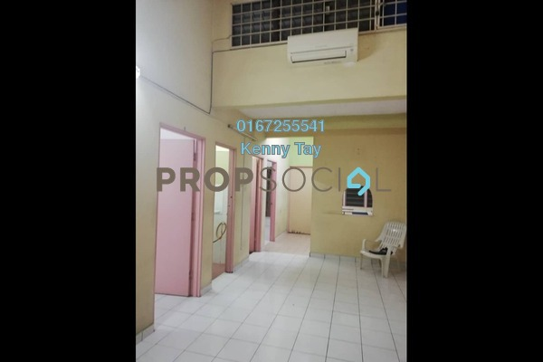For Sale Townhouse at Taman Wangsa Permai, Kepong Freehold Semi Furnished 3R/3B 320k