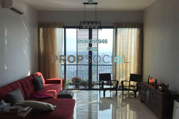 For Sale Condominium at Vogue Suites One @ KL Eco City, Mid Valley City Freehold Semi Furnished 2R/2B 1.6m