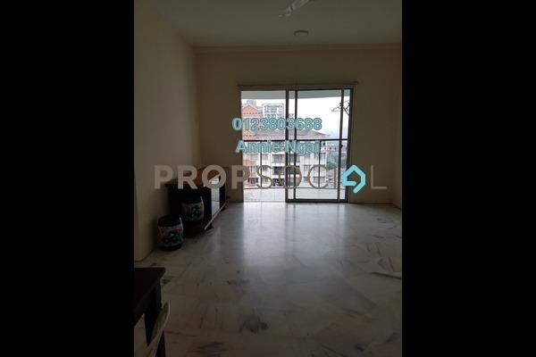 For Rent Apartment at Kenanga Apartment, Pusat Bandar Puchong Freehold Semi Furnished 3R/2B 1.5k