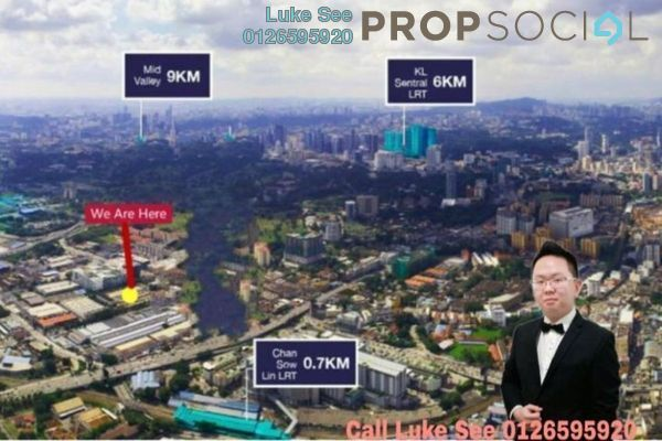 For Sale Condominium at Trion @ KL, Kuala Lumpur Freehold Semi Furnished 3R/2B 710k