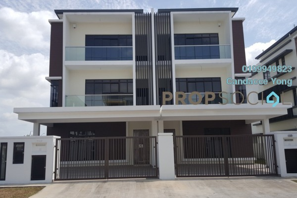 For Sale Semi-Detached at Dilennia Retusa, Setia Alam Freehold Unfurnished 5R/6B 2.1m