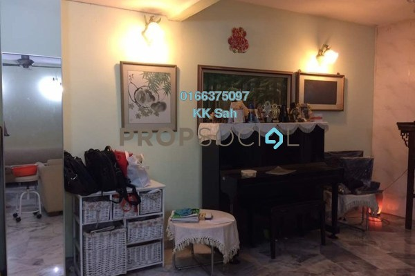For Sale Superlink at Taman Minang Ria, Cheras South Freehold Semi Furnished 5R/3B 700k