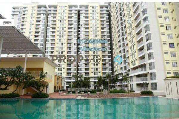 For Sale Condominium at Platinum Lake PV16, Setapak Freehold Semi Furnished 4R/2B 500k