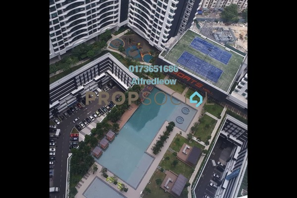 For Sale Condominium at KL Traders Square, Kuala Lumpur Freehold Unfurnished 4R/2B 435k