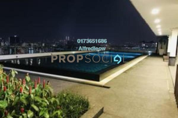 For Sale Condominium at Dex @ Kiara East, Jalan Ipoh Freehold Fully Furnished 2R/1B 425k