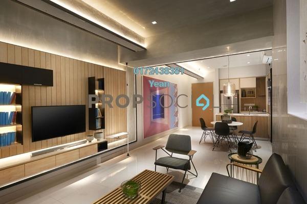 For Sale Serviced Residence at Millerz Square, Old Klang Road Freehold Semi Furnished 2R/2B 550k