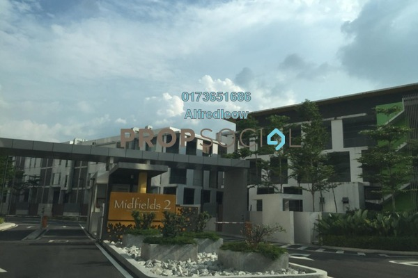 For Sale Condominium at Midfields 2, Sungai Besi Freehold Semi Furnished 3R/2B 500k