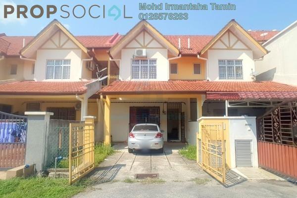 For Sale Terrace at Taman Puncak Saujana, Kajang Freehold Semi Furnished 4R/3B 540k