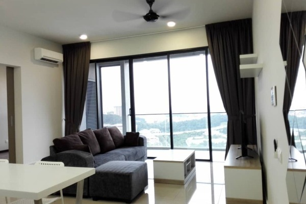 For Rent Condominium at Twin Arkz, Bukit Jalil Freehold Fully Furnished 2R/2B 3.8k