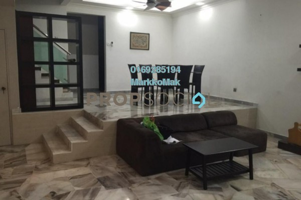 For Rent Terrace at Taman Putra Indah, Ipoh Freehold Fully Furnished 4R/3B 1.8k