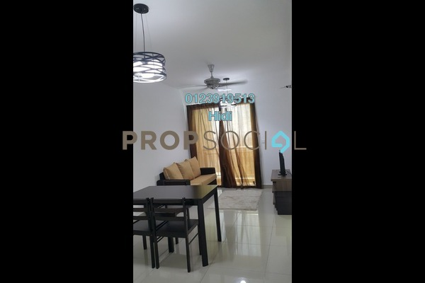 For Rent Serviced Residence at De Centrum Residences, Kajang Freehold Fully Furnished 2R/1B 1.6k