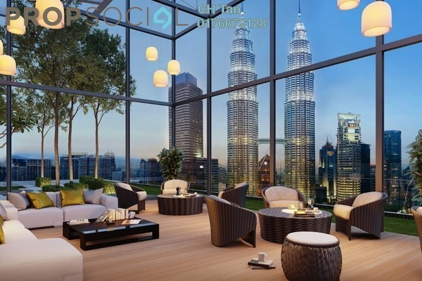 For Sale Serviced Residence at Aria, KLCC Freehold Fully Furnished 1R/1B 1.1m