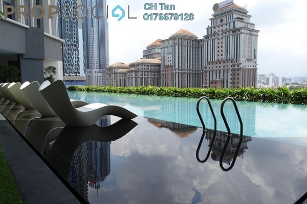 For Rent Serviced Residence at The Mews, KLCC Freehold Fully Furnished 1R/1B 4.2k