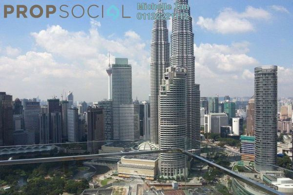 For Sale Serviced Residence at Binjai 8, KLCC Freehold Semi Furnished 2R/2B 2.38m