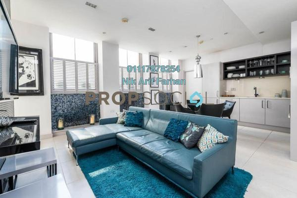 For Sale Condominium at St Regis Residences, KL Sentral Freehold Fully Furnished 3R/2B 650k