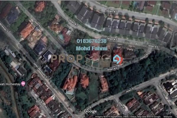 For Sale Land at Taman Melawati, Kuala Lumpur Freehold Unfurnished 0R/0B 1.22m
