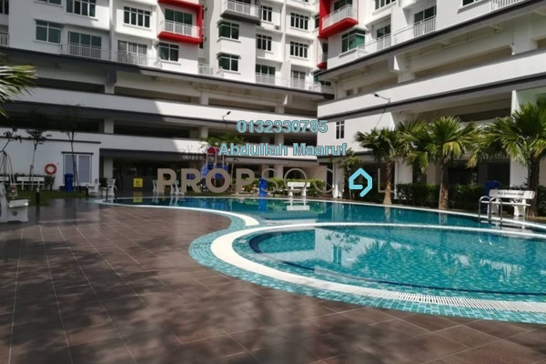 For Rent Condominium at Ehsan Residence, Putra Nilai Freehold Semi Furnished 3R/2B 1.5k