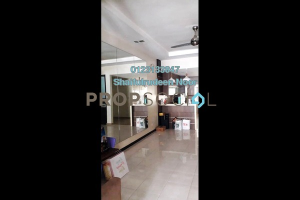 For Sale Terrace at Park Residence, Bukit Jelutong Freehold Semi Furnished 4R/4B 900k