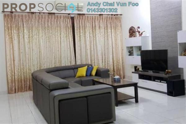 For Sale Terrace at Kota Kemuning Hills, Kota Kemuning Freehold Semi Furnished 4R/4B 908k