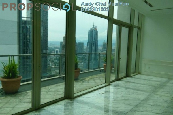 For Rent Serviced Residence at Marc Service Residence, KLCC Freehold Semi Furnished 5R/4B 26k