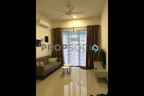 For Rent Serviced Residence at South View, Bangsar South Freehold Fully Furnished 3R/2B 3.8k
