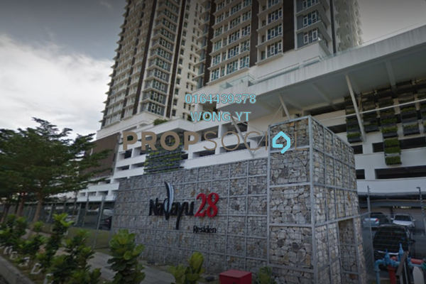 For Sale Condominium at Nadayu28, Bandar Sunway Freehold Fully Furnished 4R/3B 1.4m