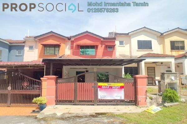 For Sale Terrace at Bandar Tasik Puteri, Rawang Freehold Unfurnished 4R/3B 380k
