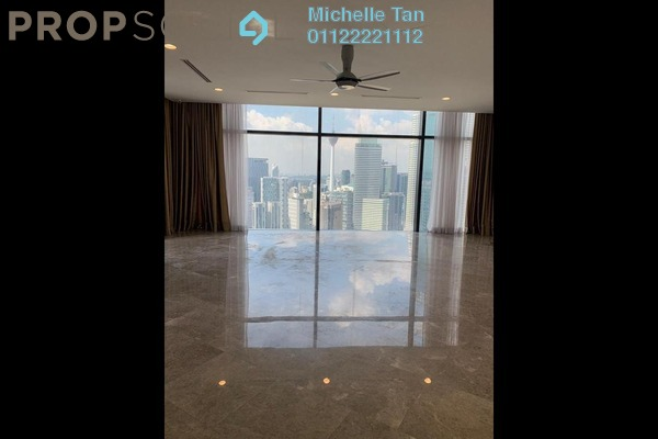 For Rent Duplex at The Troika, KLCC Freehold Semi Furnished 3R/4B 30k