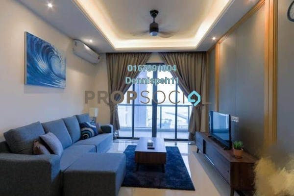 For Rent Condominium at R&F Princess Cove, Johor Bahru Freehold Fully Furnished 2R/2B 2.2k