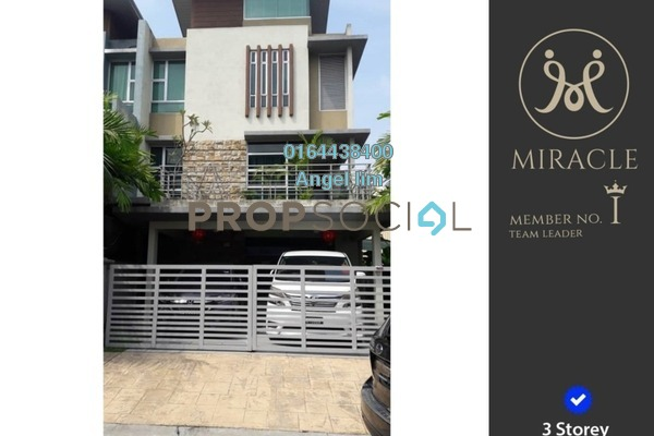 For Sale Condominium at Tiara Puteri, Bukit Rahman Putra Freehold Fully Furnished 5R/5B 1.35m