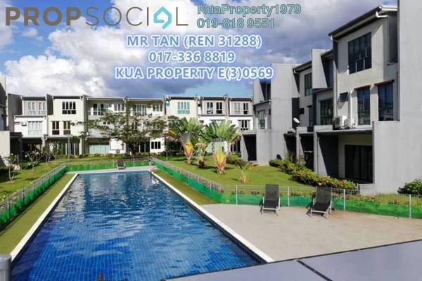 For Rent Townhouse at Academia Lane, Kota Samarahan Freehold Semi Furnished 6R/4B 1.8k