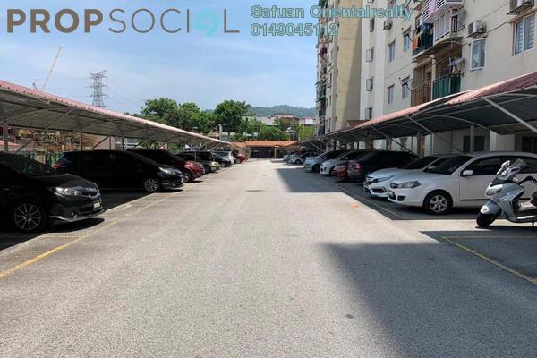 For Sale Apartment at Saujana Gombak Apartment, Batu Caves Freehold Unfurnished 3R/2B 320k